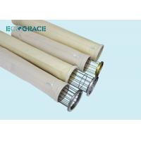 Wholesale D150 X L3600mm Dust Collector Replacement Bags / Nomex Needle Felt Filter Bags 500 Gsm from china suppliers