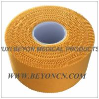 Wholesale Zig - zag Yellow Breathable Athletic Training Tape For Trainer Athlete Daily Protection from china suppliers