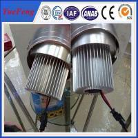 China round shape aluminium extrusion heat sink /aluminium radiator for aluminium LED profile for sale