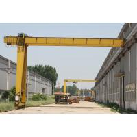China 5t semi gantry crane hoist for outdoor and indoor with CE ISO certificates for sale