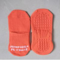 Wholesale Birthday celebrations jumping socks beans slipper socks trampoline bounce socks from china suppliers