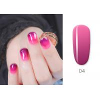 Wholesale Custom Color Mood Changing Gel Nail Polish LED Light 30s 60s Long Lasting Soak Off from china suppliers