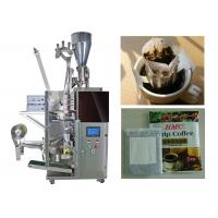 Wholesale Granular / Powder Drip Coffee Packing Machine With 3 Sides Seal from china suppliers