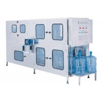 Buy cheap 200BPH 5gallon Bottled Water Bottling Line Interior And Exterior Washing from wholesalers