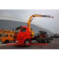Wholesale 18 Ton 2 Axles Folding Arm Boom Loader / Truck Mounted Crane SQ360ZB4 from china suppliers