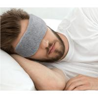 Wholesale Sleeping Eye Mask 2018 high quality Cotton cloth eyemask very soft for USA European market from china suppliers