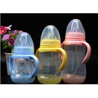 Wholesale BPA Free super wide neck Temperature change color PPSU baby feeding bottle 180ml-300ml from china suppliers