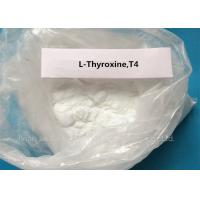 Wholesale Levothyroxine Steroid White Powder L-Thyroxine T4 for Fat Loss CAS 51-48-9 from china suppliers