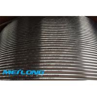 China Bright Annealed Coiled Steel Tubing , 2507 UNS S32750 Seamless Steel Pipe on sale