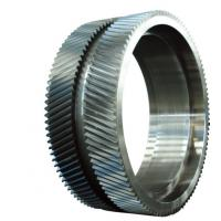 China 20CrMnMo 42CrMo Forged Steel Rings / Mchanical Gear Ring Forging For Wind Power on sale