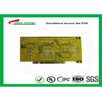 Wholesale Gold Finger PCB for Computer 4 Layer PCB Thickness 1.6mm Immersion Gold UL , ROHS , ISO from china suppliers