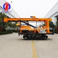 Wholesale Water-air dual drilling rig supplies JDL-300 crawler type water-air dual exploration track fast drilling rig from china suppliers