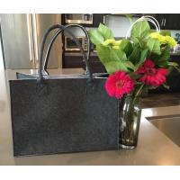 Wholesale Shoulder Bag Style and Felt Material Felt shopping tote bag for lady(info@chinafelt.com) from china suppliers