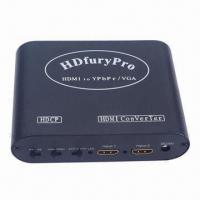 Wholesale HDMI® to VGA Video Switch with 2 x HDMI Input and YPPBR Output Box from china suppliers