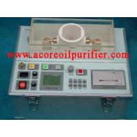 Wholesale Insulating Oil Dielectric Strength Tester Set from china suppliers