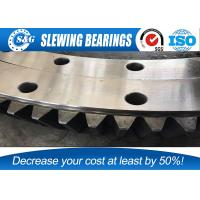 Buy cheap Low Vibration 42 CrMo 50Mn Excavator Slewing Bearing For Doosan DX225 from wholesalers