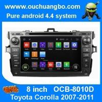 Wholesale Ouchuangbo autoradio DVD stereo navi Toyota Corolla 2007-2011 3G wifi bt MP3 android 4.4 from china suppliers