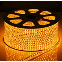 Wholesale LED Strips SMD5050 60pcs yellow color warterproof white double PCB 3M adhersive CE EMC from china suppliers