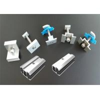 Wholesale Open Ground Solar Panel Earthing Clamps Home Rail Components Customized Length from china suppliers