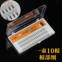 Wholesale 10D 3D Volume Eyelash Extensions , Prime Semi Permanent Individual Lashes Silk from china suppliers