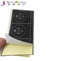 China Commercial Product Label Sticker Printing Printed Self Adhesive Labels for sale