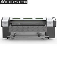 Buy cheap CrysTek CT-R180 roll and flatbed UV printer with Epson dx5 head for glass wood from wholesalers