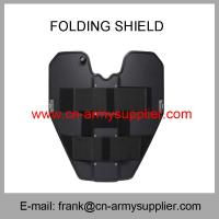 Buy cheap Wholesale Cheap China Military Anti-Riot Army Police Tactical Folding Shield from wholesalers