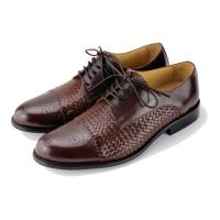 Buy cheap Hottest 2015 New brand Fashion Men Genuine Leather handmade FASHOIN CLASSIC CASUAL woven MEN SHOES from wholesalers