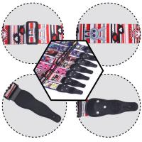 Wholesale 5Cm Width Leather Head Polyester Custom Printed Guitar Straps Accessories For Guitar Decoration from china suppliers