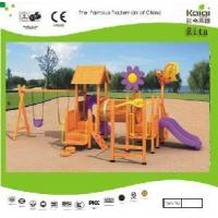 Wholesale Wooden Outdoor Playground (KQ9158A) from china suppliers
