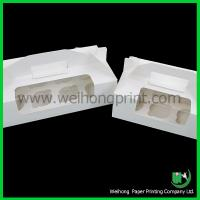 Quality Paper cupcake box with handle for sale