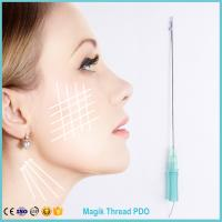 Wholesale PDO thread cosmetic facelifting for facial rejuvernation /facelift thread/ needle thread Mono/ Tornado from china suppliers