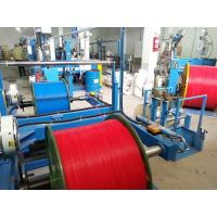 China 0.5 Mm2 Copper Wire And Cable Extrusion Machine With Mitsubishi Belt for sale