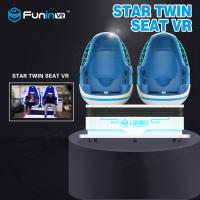 Buy cheap 360 Degree Rotating VR Egg Chairs Platform Two Players Interactive Game 9D VR Simulator In VR Game Zone from wholesalers