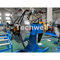 Wholesale Manual / Hydraulic Double Head Decoiling Machine With 0-15m / Min Uncoiling Speed from china suppliers