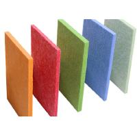 Wholesale Sound Absorption Polyester Acoustic Panels for Decoration , 2420mm*1220mm from china suppliers