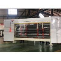 China Automatic Adjust Rotary Slotter Machine For Corrugated Cardboard for sale