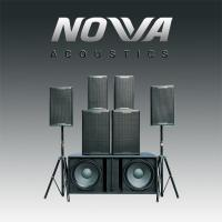 Wholesale Professional 2 Way Nightclub Speaker Systems 300 Watt For KTV / DJ Stage from china suppliers