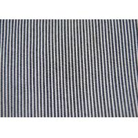 Wholesale Beautiful Cotton Blended Fabric / Yarn Dyed Stripe Fabric Shrink - Resistant from china suppliers