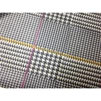 China Red / Yellow Lines Printed Printed Leather 0.15mm - 0.20mm Abrasion Resistant on sale