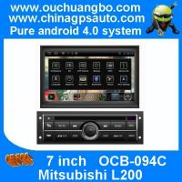 "Wholesale Ouchuangbo 7"" DVD Radio Android 4.0 System for Mitsubishi L200 with S150 USB GPS Navigation 3G Wifi BT OCB-094C from china suppliers"