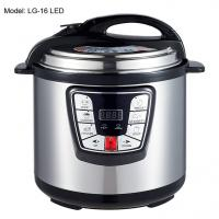 Buy cheap Adjustable 6L Digital Pressure Cooker , Kitchen Pressure Cooker Progrommable from wholesalers