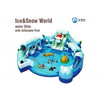 China Backyard Commercial Inflatable Water Slides Commercial Water Inflatables on sale