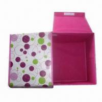 Wholesale Laminated Nonwoven Closet Storage Box, Customized Designs and Logos are Accepted from china suppliers