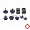 6W Series 7.5V1A 9V0.7A Interchangeable Plug Medical Power Adapters , Meet EN/IEC60601 Standard for sale