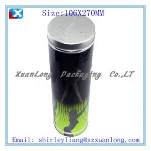 Quality gift tin bottle tin wine tin box for sale