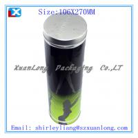 Wholesale Tall Round Wine Tin Box from china suppliers