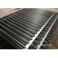 Wholesale Commercial Automatic Driveway Gates Picket Steel Fence Eco Friendly from china suppliers