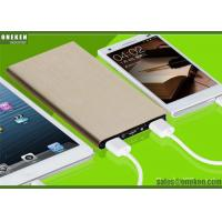 Wholesale Ultrathin Portable Fast Charging Power Bank 6000mah With Lithium - Ion Polymer Battery from china suppliers