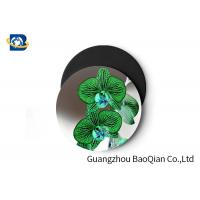 Wholesale Stunning Flower Personalised Round Coasters , Print Your Own Coasters 3D Lenticular Picture from china suppliers